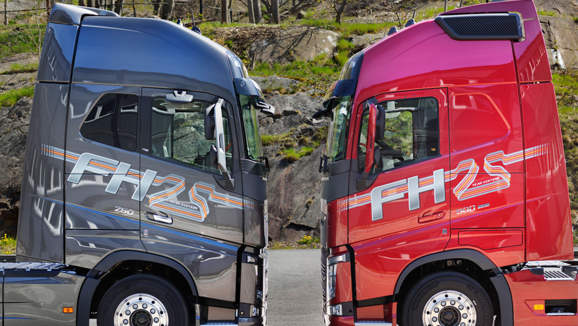The Volvo FH 25 Year Special Edition — a tribute to an icon