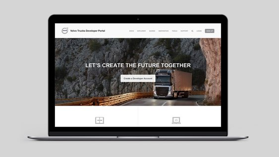 Developer portal Volvo Connect