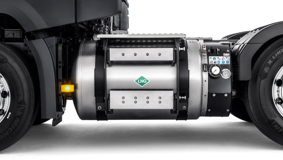 Volvo Trucks see LNG as a long-term energy source