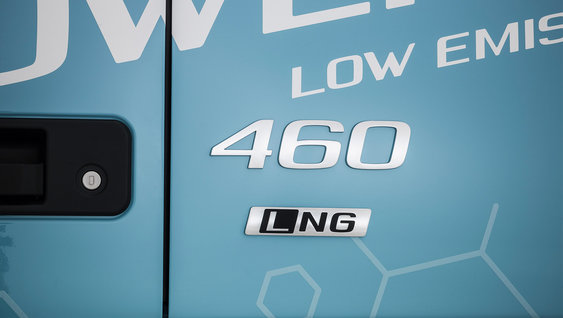 Smaller footprints with Volvo FM LNG