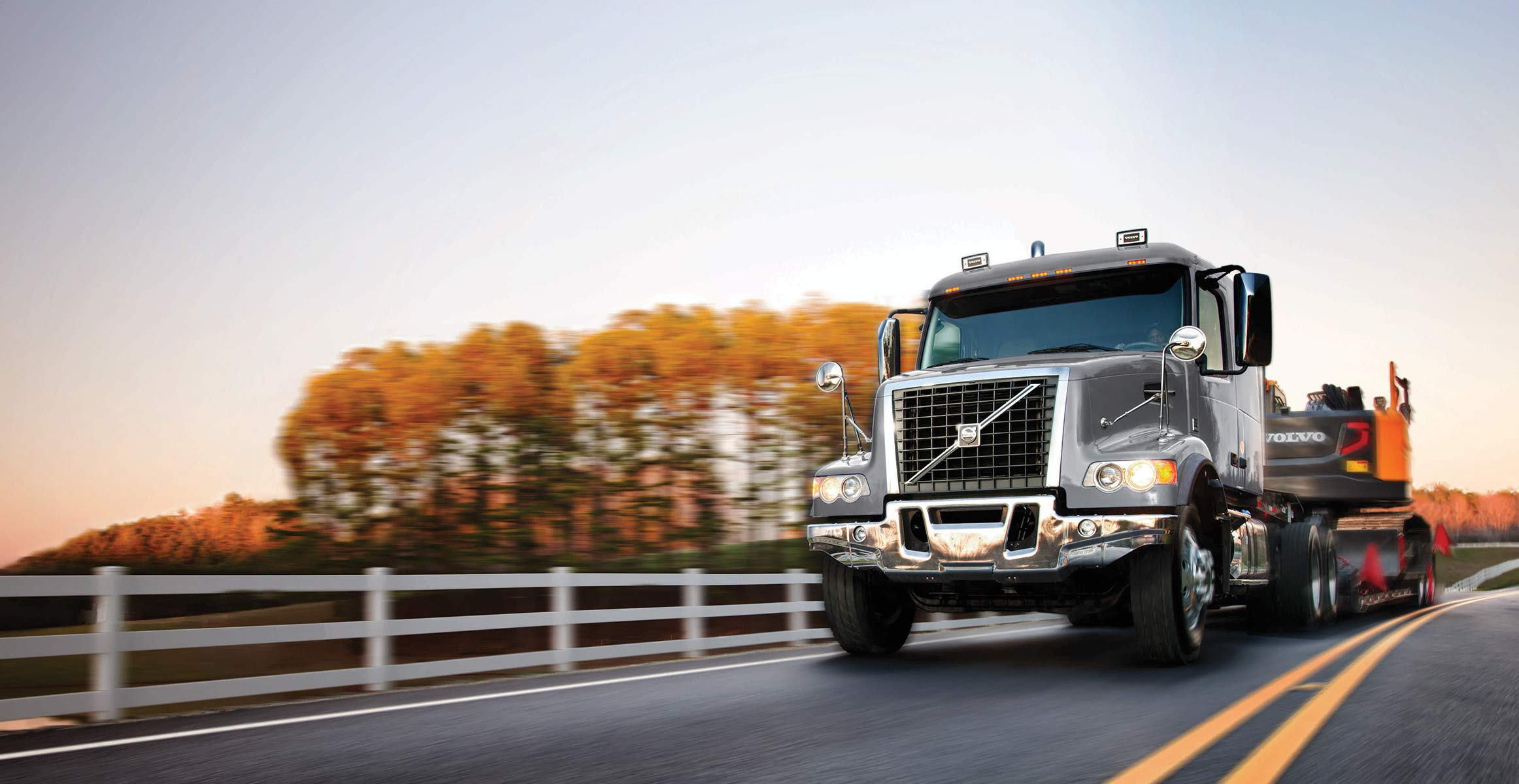 Volvo VHD series - For when you need to get off the highway | Volvo Trucks