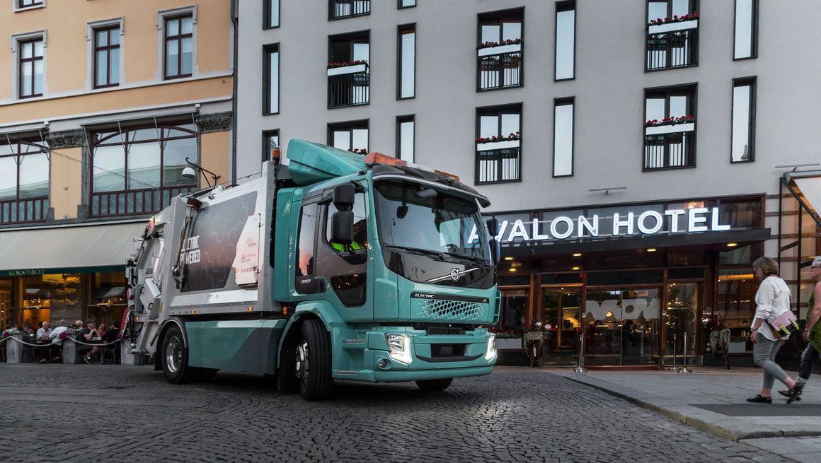 Electric Volvo FE and FL