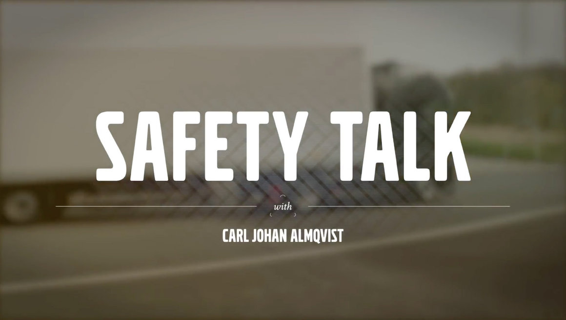 Volvo FE safety talk