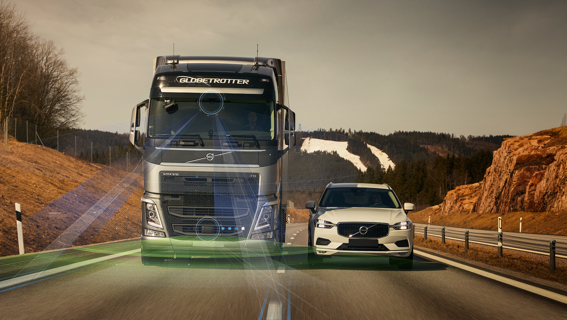 Volvo Trucks' new driver support systems take safety to the next level
