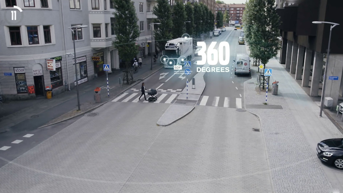 Volvo FL Active safety systems