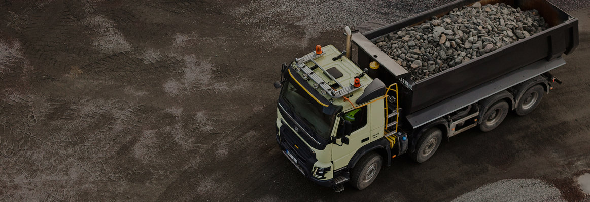 Increased uptime: a truck that works hard
