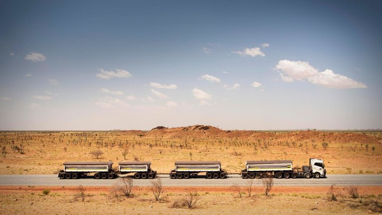 Driver's World: Australian outback.