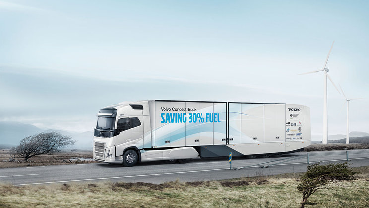 Volvo Trucks long-haul hybrid