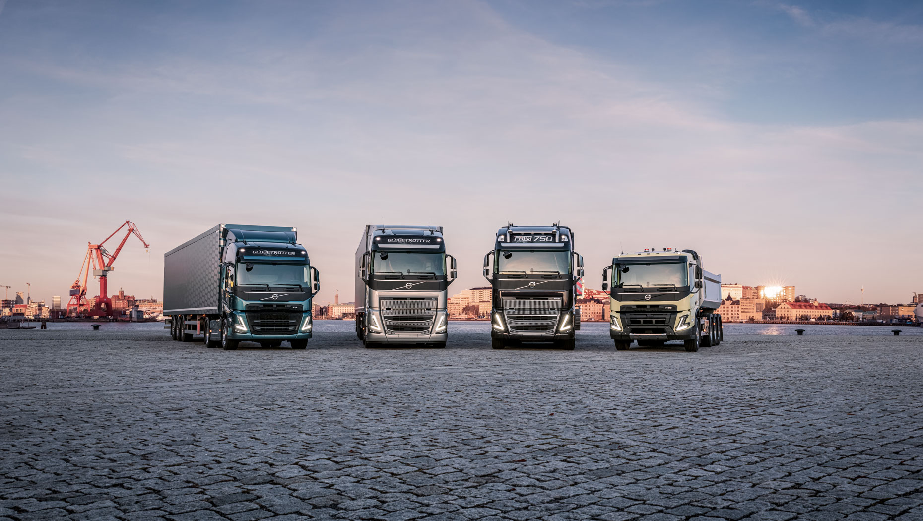 R2A8182 The new Volvo Trucks heavy duty range