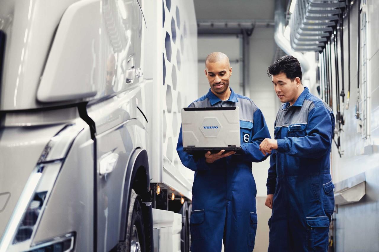Genuine Volvo Service Vehicle Care Volvo Trucks Services