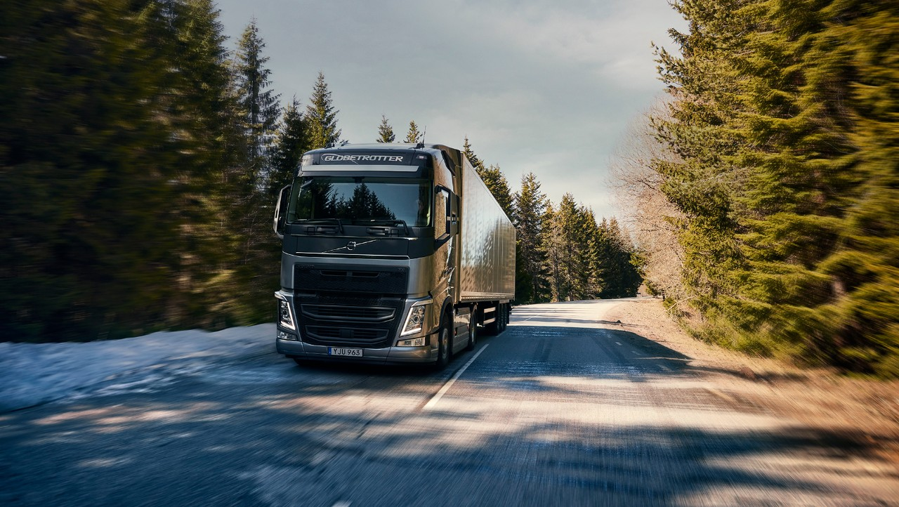 Volvo FH on the road