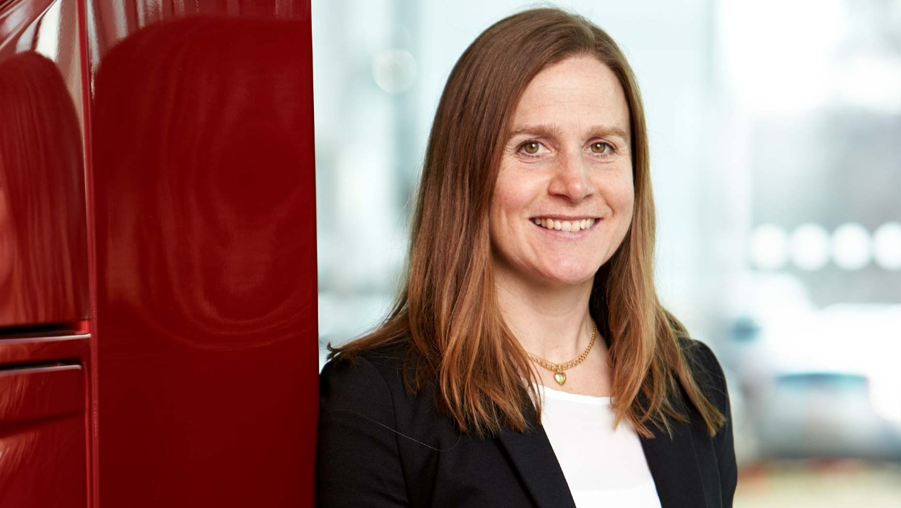 Anna Wrige, Traffic & Product Safety Director at Volvo Trucks.