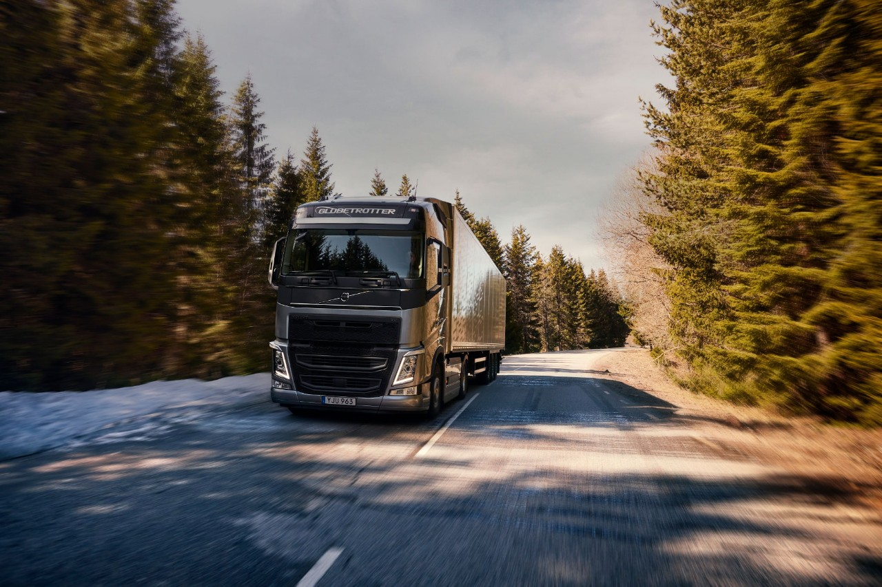 The latest Volvo FH with I-Save