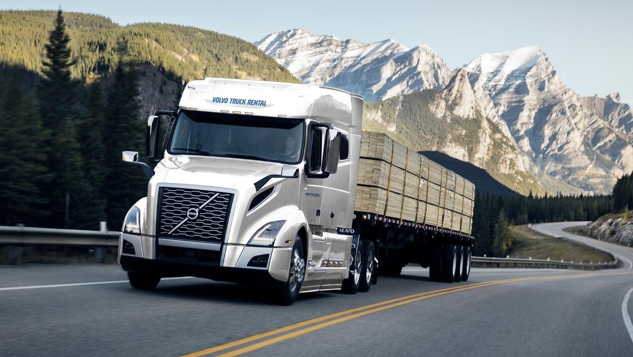 Volvo Truck Rental economy