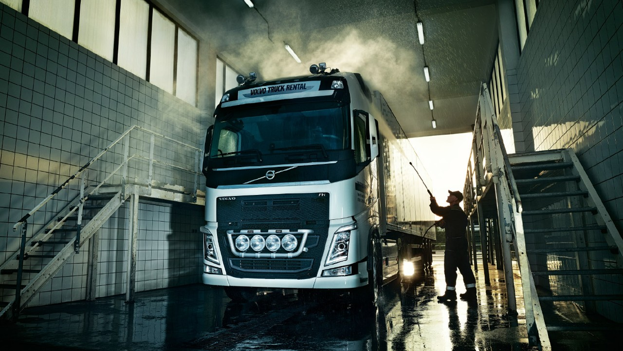 Volvo Truck Rental support