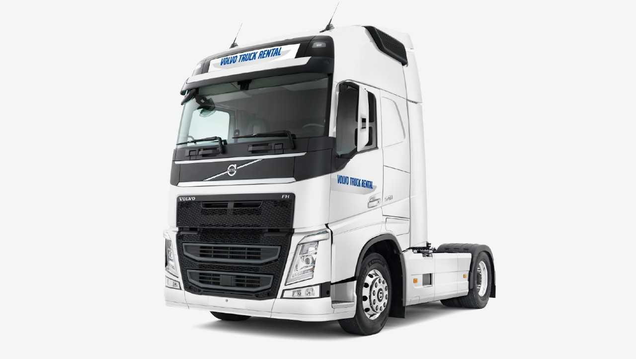 Volvo Truck Rental quality