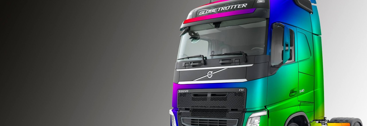 Volvo colour your cab