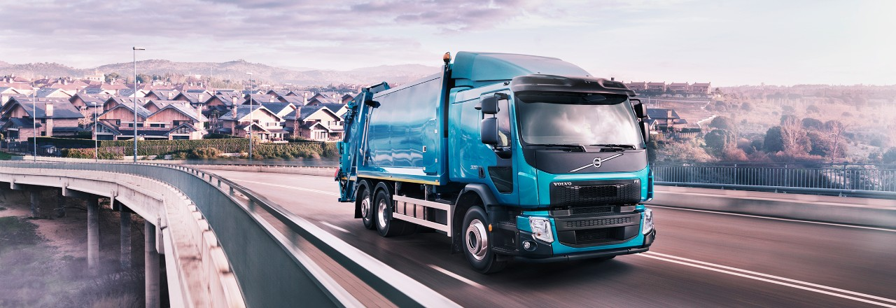 Volvo FE on the road