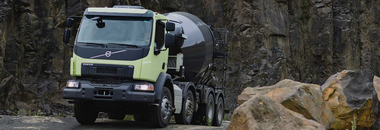 Volvo VM 6x4 dumper truck