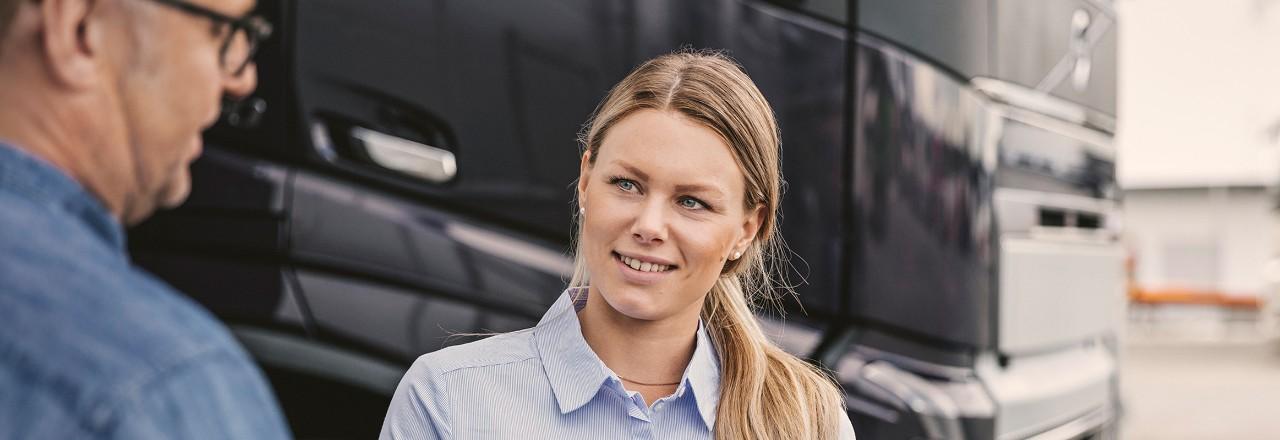 Финансовые продукты Сервисы Volvo Trucks