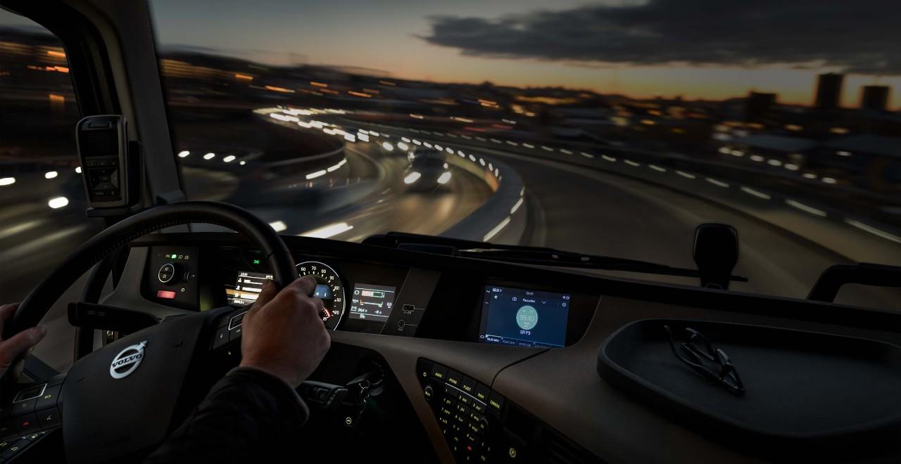 «Состояние автомобилей» в системе Dynafleet.