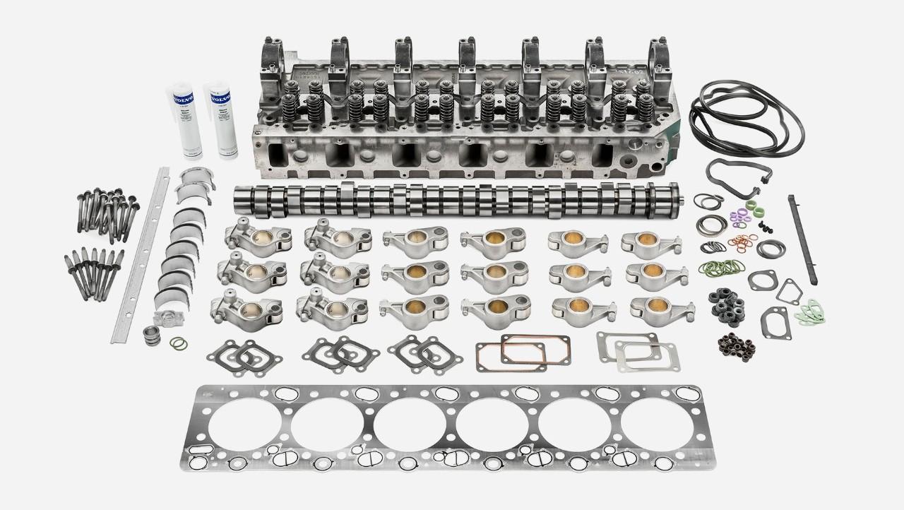 Комплект для капитального ремонта верхней части двигателя грузовых автомобилей Volvo