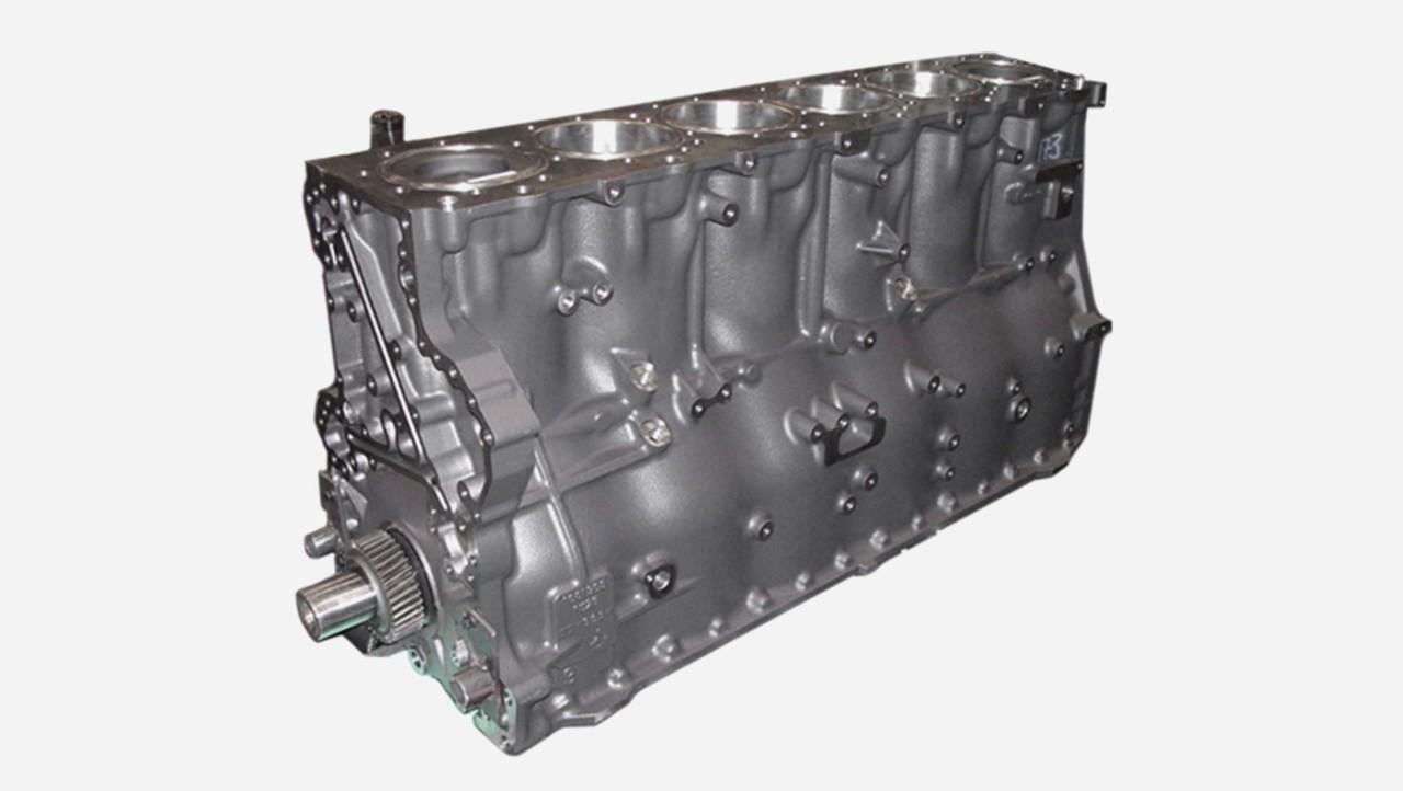 Полный блок двигателя